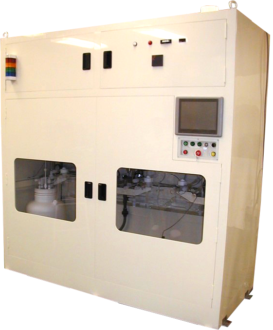 粉体酸化剤(APS)溶解・供給システム