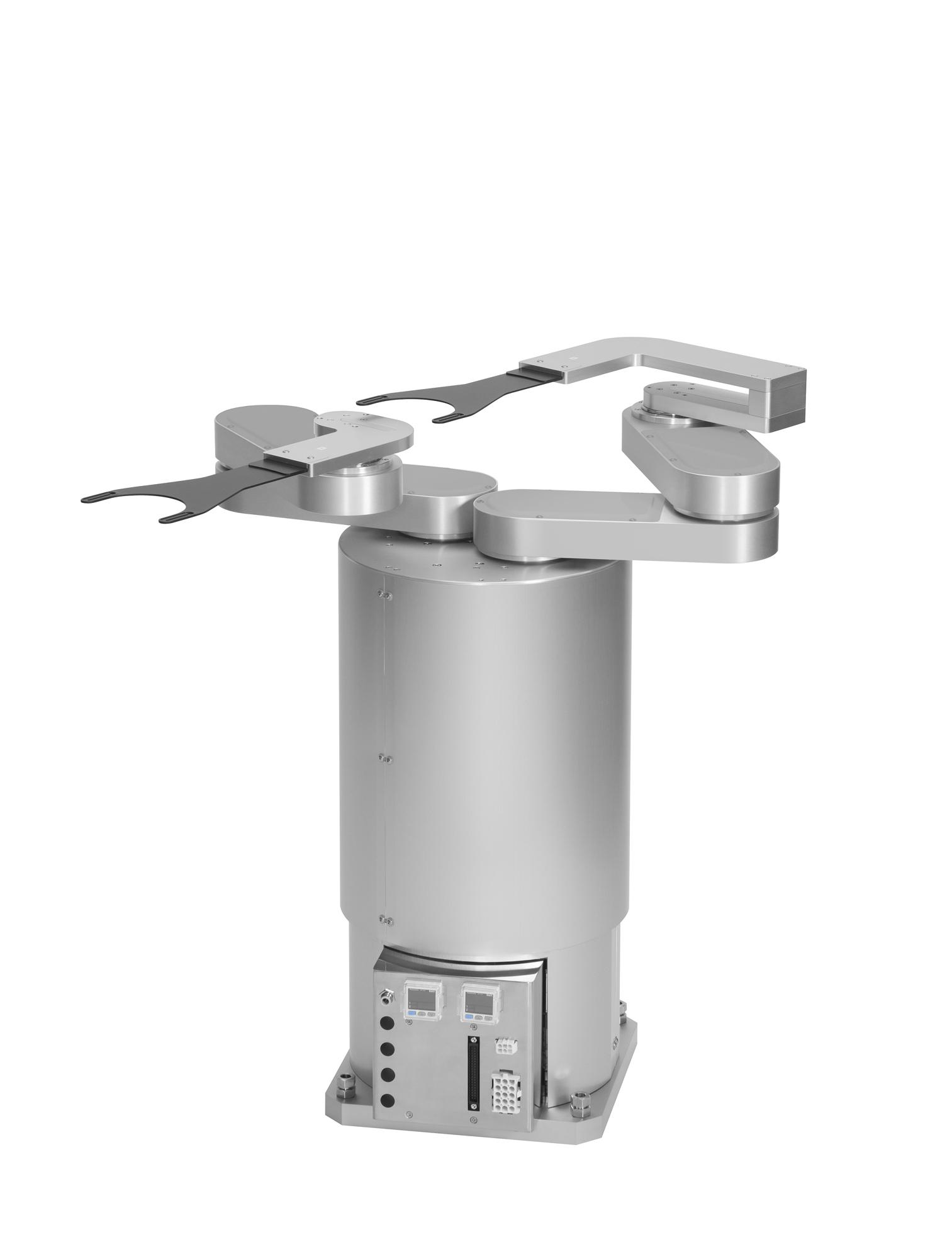 サーボモーター仕様大気用クリーンロボット